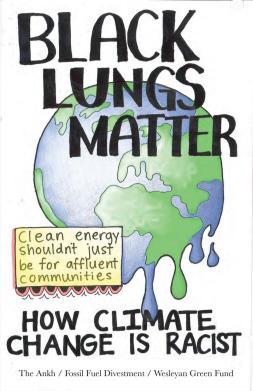 A black lungs matter poster