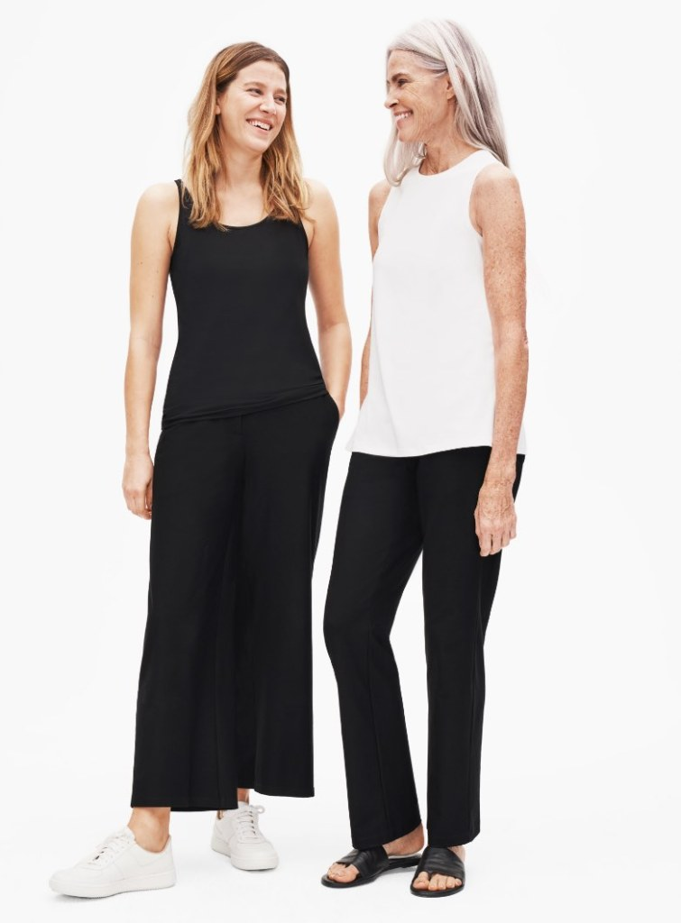 Sustainable clothing from Eileen Fisher