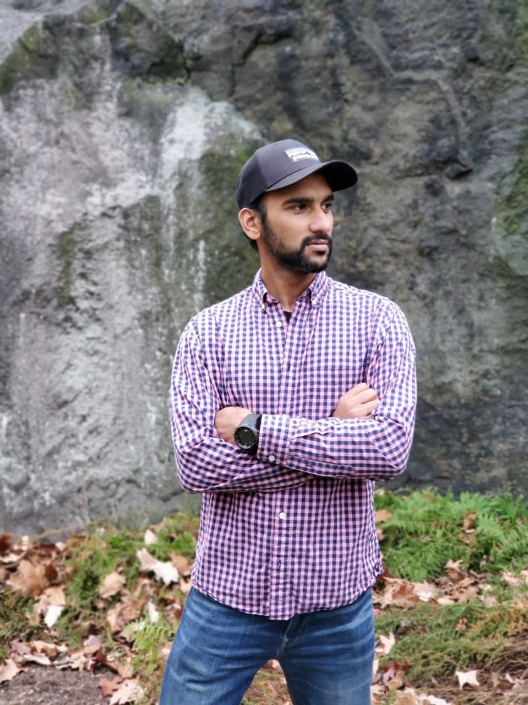 Hafeez Zahirudin, Volunteer Coordinator at Van Cortlandt Park Alliance