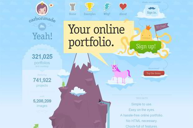 infographic driven web designs