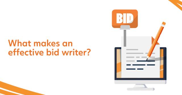 What makes an effective bid writer?