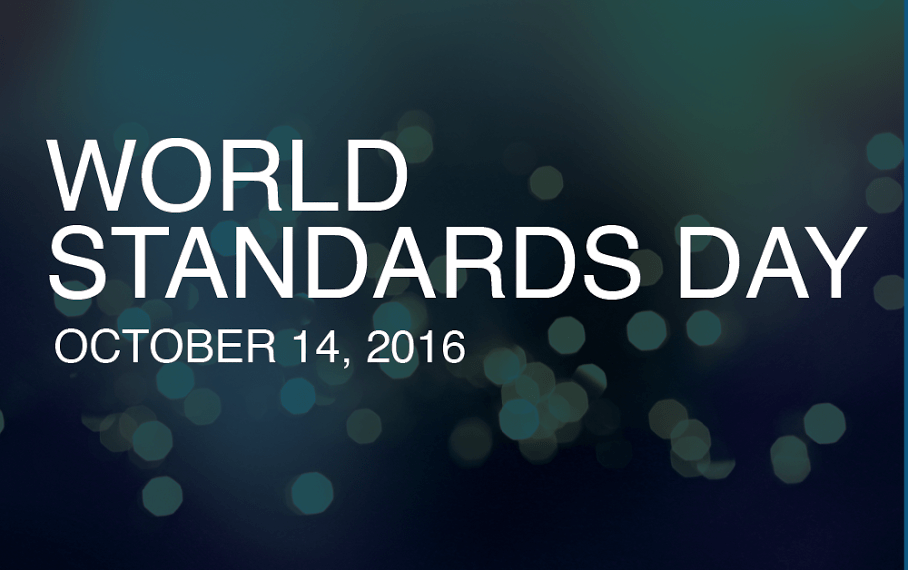 World Standards Day - October  14
