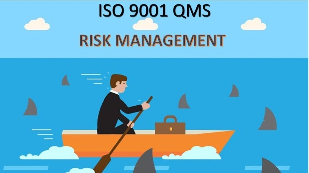 How to Manage your Business Risk Through ISO 9001:2015 Quality Management System Implementation