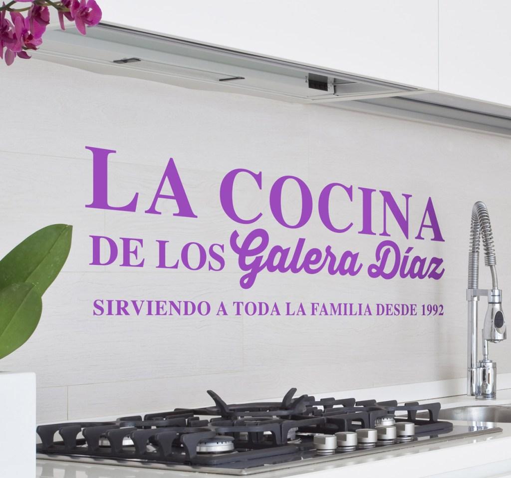 decorar tu cocina personalizable