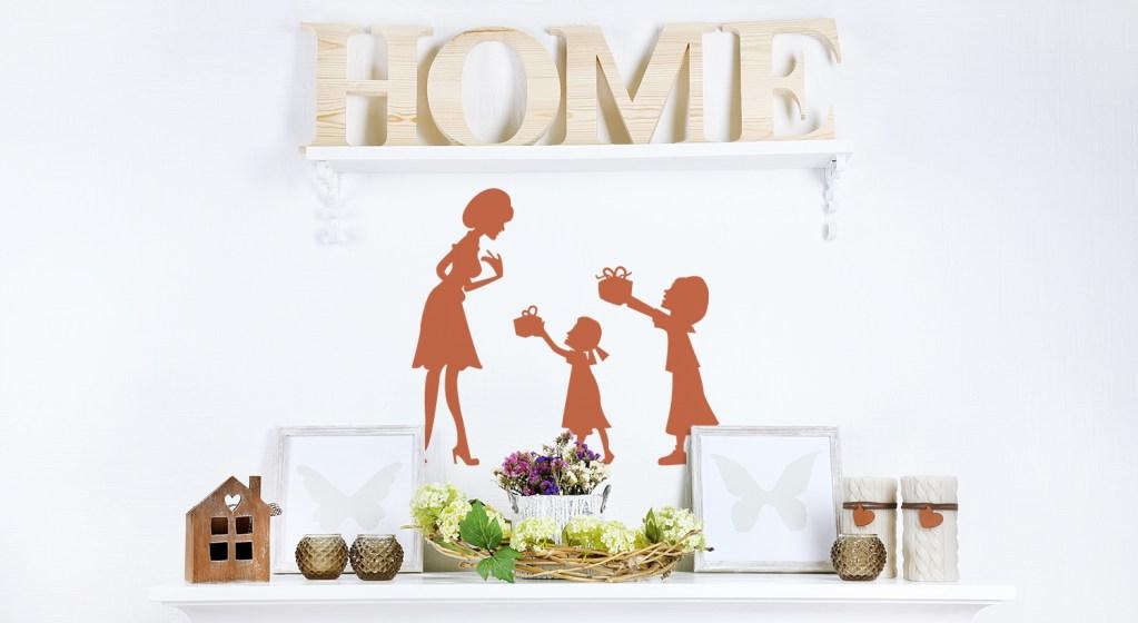10 ideas de vinilos decorativos para mamá