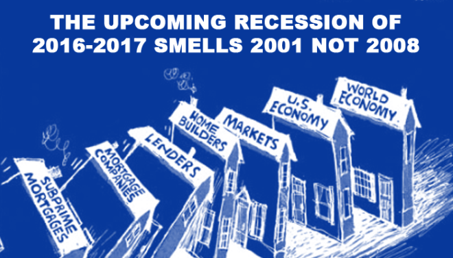 Upcoming recession