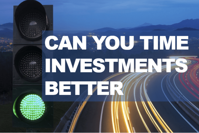 Time investments better