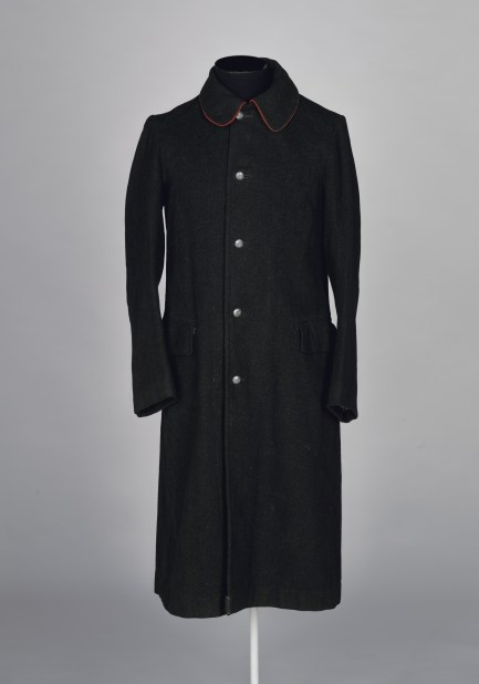 Women's postal uniform in black