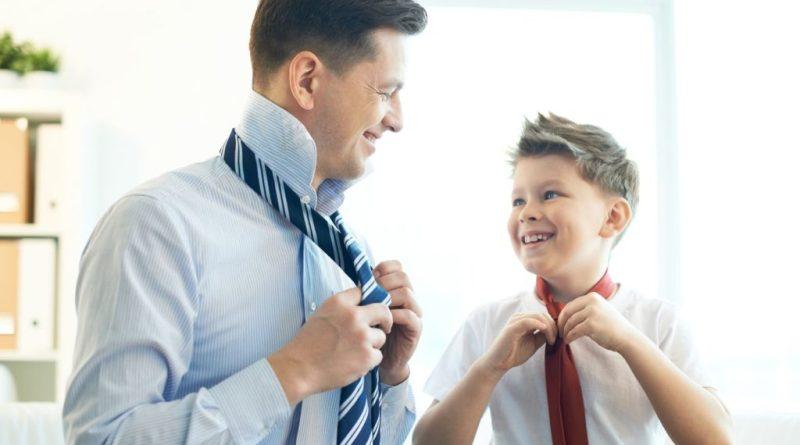 Você é o espelho do seu filho