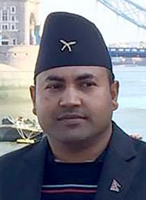 Madhukar K.C., Headshot