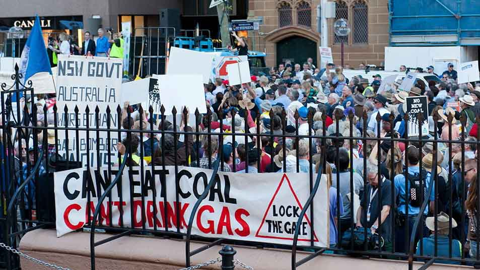 NSW Election Forum — Coal and coal seam gas: An election liability?