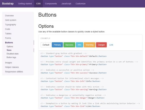 Bootstrap Documentation