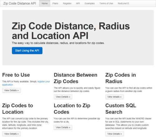 http://zipcodedistanceapi.redline13.com/