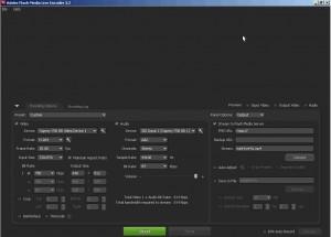 Adobe FMLE settings part1