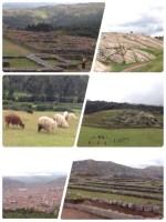 インカの遺跡。目的は城砦、宗教施設、その双方を兼ねた建造物など諸説ありますが、確定していないそうです。1983年、クスコの市街として世界遺産に登録されました。