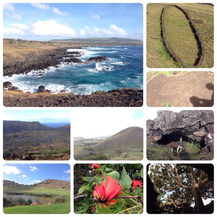 イースター島の風景。