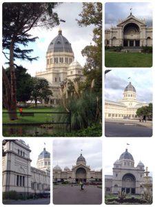 王立展示館は1880年、メルボルン博覧会で使用されるために建てられました。オーストラリアで最初の大陸ヨーロッパ風建築物と言われます。ゴシック様式やロマネスク様式など数種の様式が混ざり合った独特の建物。カールトン庭園は園芸が盛んといわれるオーストラリア有数の庭園の一つだそうです。 王立展示館とカールトン庭園は、2004年世界遺産に登録されました。 世界遺産の割には閑散としていました。