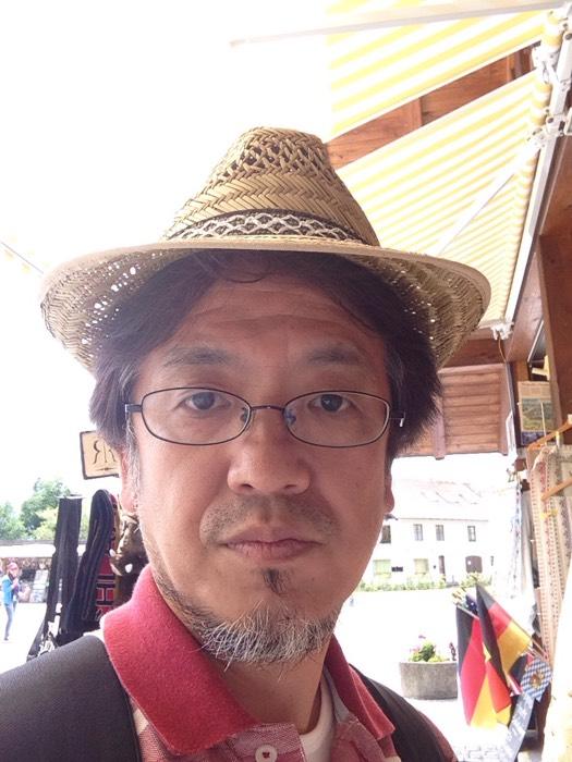 ヴィース教会近くで帽子を購入!