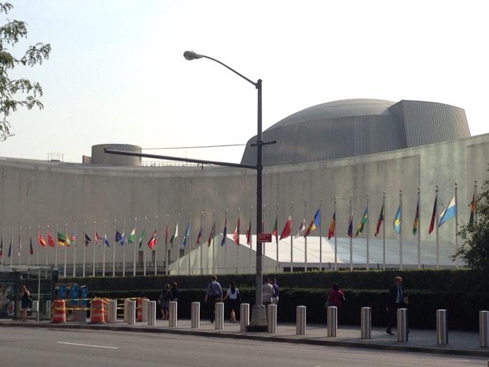 国際連合本部。