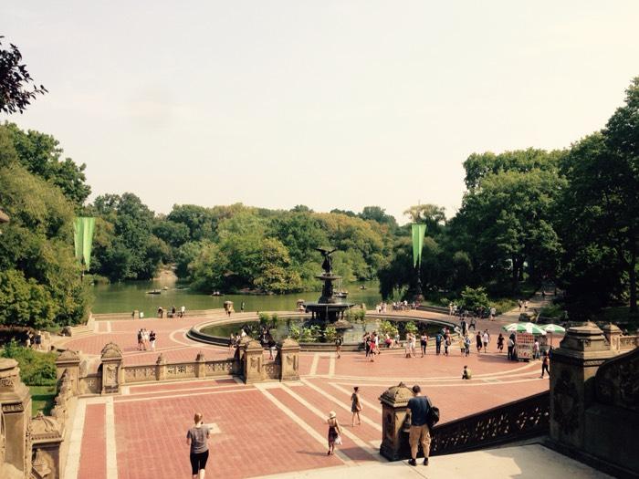 ニューヨークのセントラルパーク。