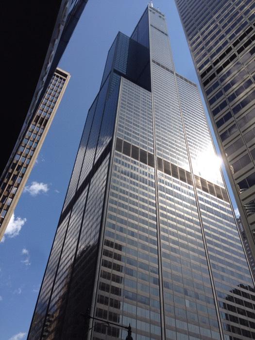 シカゴのウィリス・タワー。