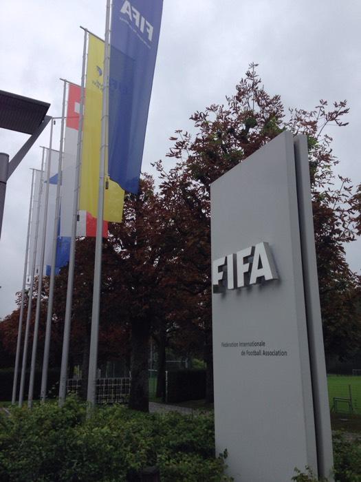 国際サッカー連盟(FIFA)本部。