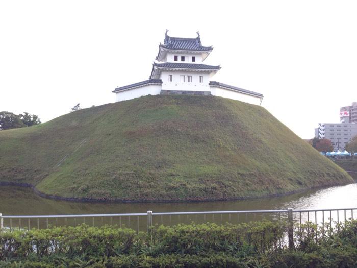 関東7名城の一つ、宇都宮城跡。