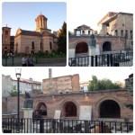 ブカレストで最も古い建造物、旧王宮跡。