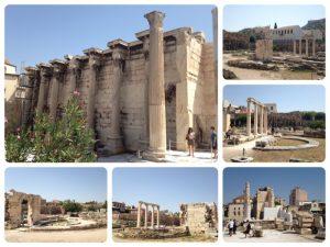 ローマ皇帝ハドリアヌスが132年に建設。267年にヘルール族の侵入により破壊されましたが、412年に属州知事により修復され、5世紀には中庭部分にキリスト教聖堂が造られました。7世紀になると3廊式の聖堂がそれに取って代りますが、7世紀後半にはそれらの聖堂も取り壊され、パンタナサ聖堂の建物の一部となりました。オスマン帝国時代には県庁の建物となっていたそうです。