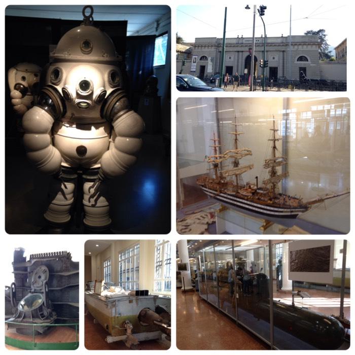 ラ・スペツィアの海軍技術博物館。