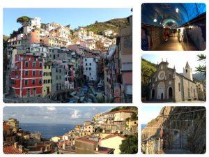 イタリアのチンクエ・テッレと呼ばれる景勝地(世界遺産)です。
