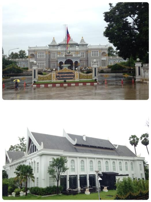 ヴェンチャンの大統領官邸。