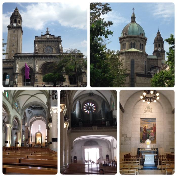 マニラ大聖堂。