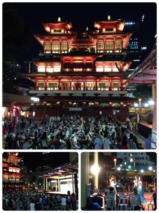 シンガポール仏牙寺龍華院。