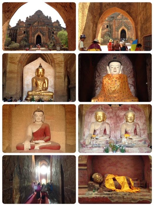 バガンのダマヤンヂー寺院。