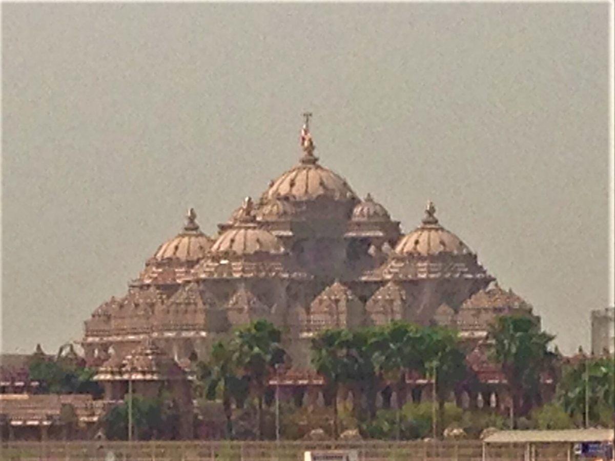 世界一大きなヒンドゥー教寺院、アークシャルダーム寺院。