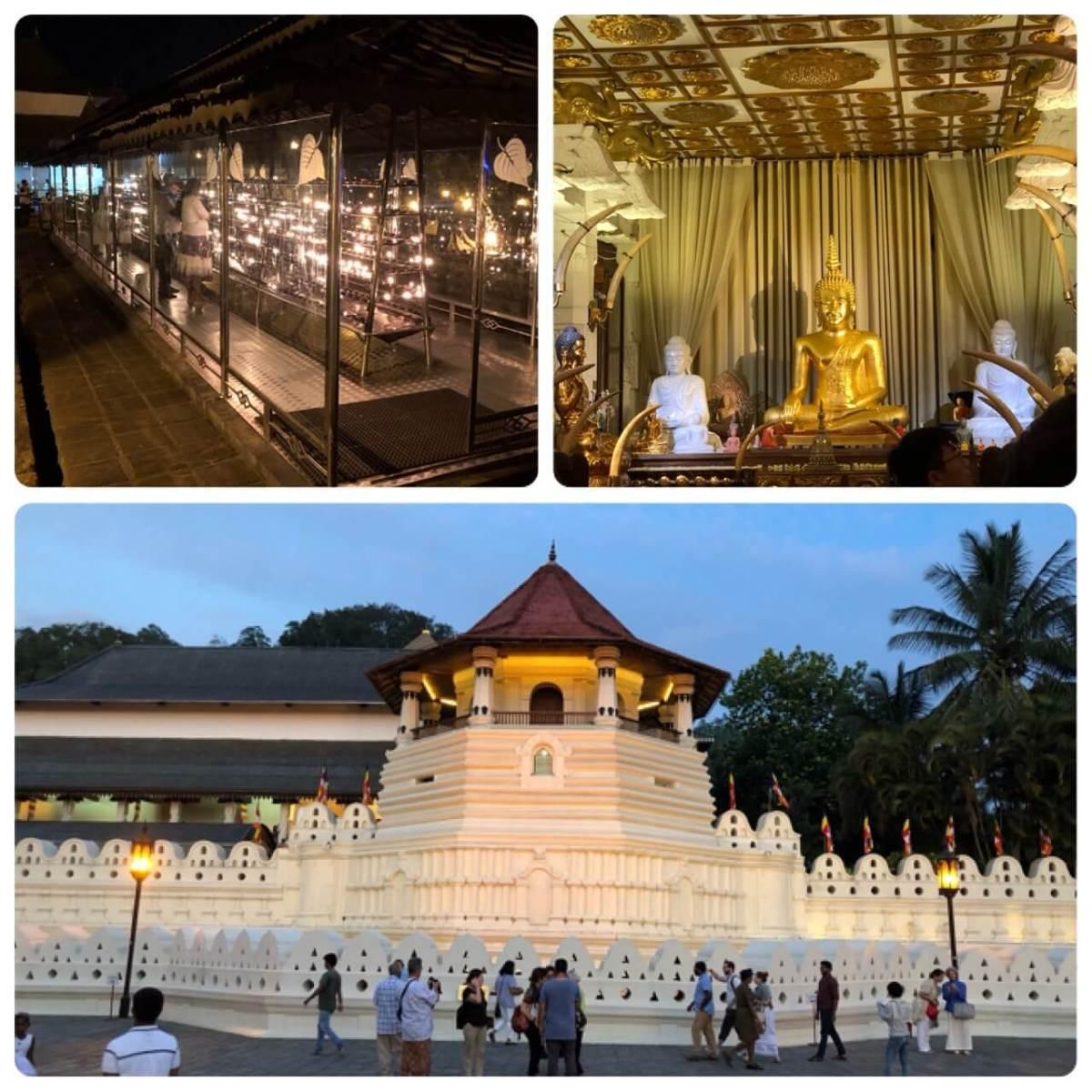 仏教の聖地キャンディの佛歯寺