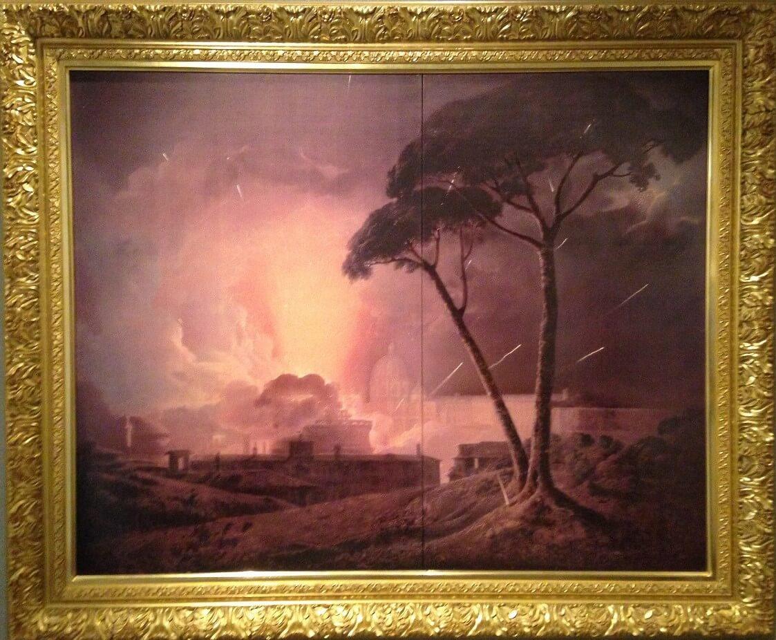 サンタンジェロ城の花火(ジランドール)