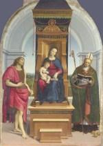 アンシデイの聖母 ラファエッロ・サンツィオ
