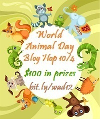 World Animal Day Blog Hop: 10/4