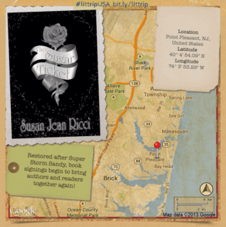 Literary Road Trip: Susan Jean Ricci & The Sugar Ticket