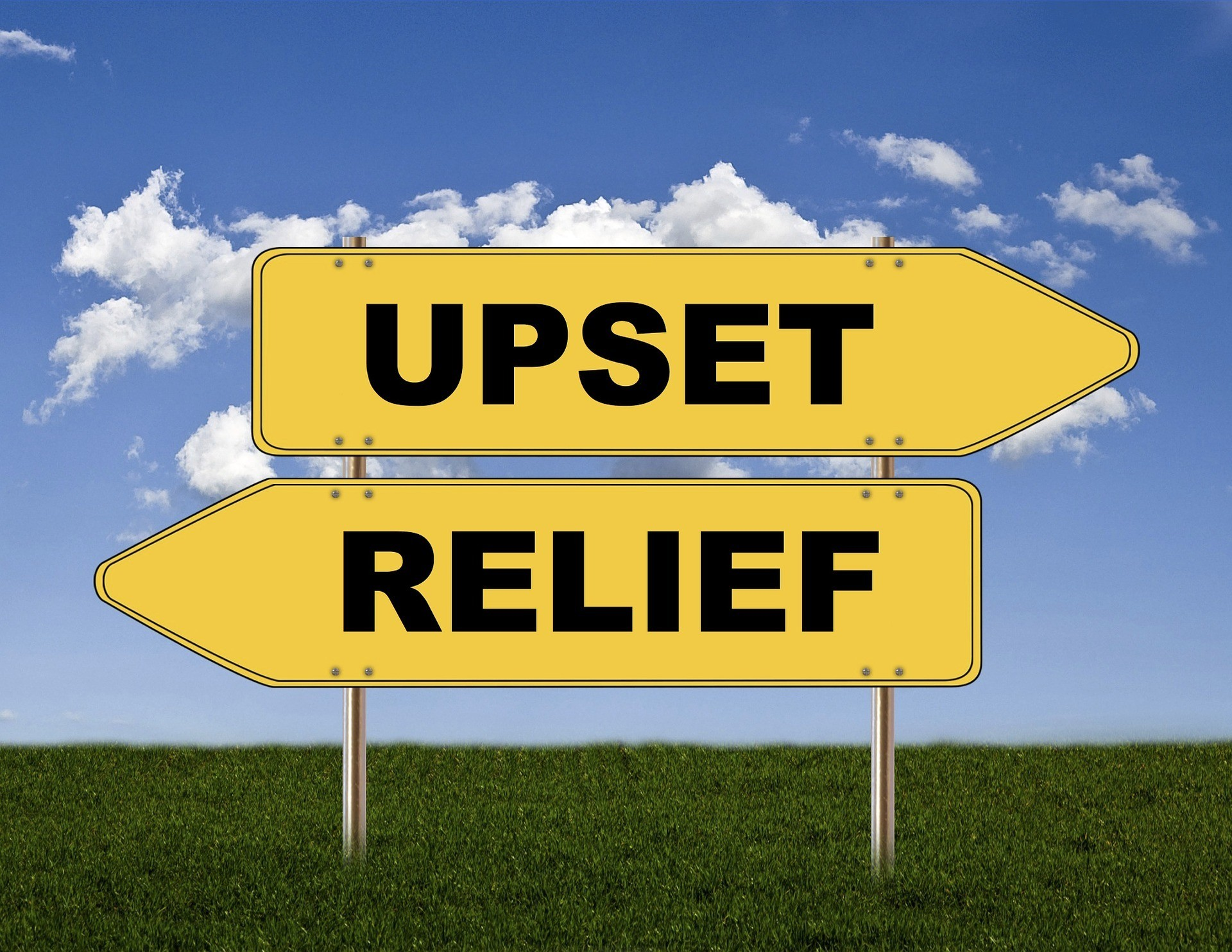 Upset - Relief