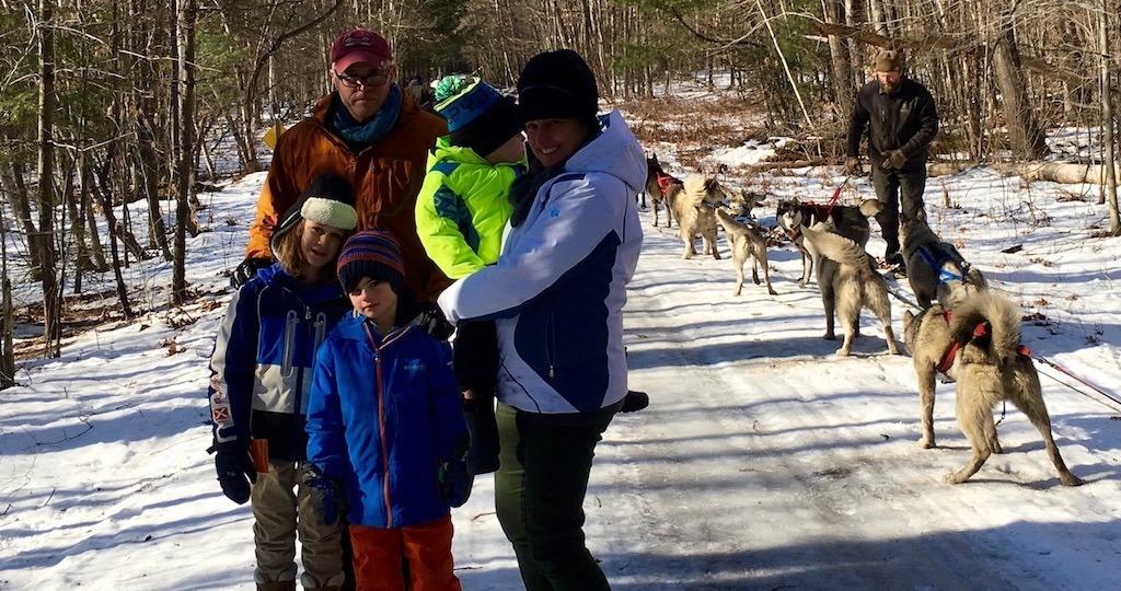 Dog Sledding in New England