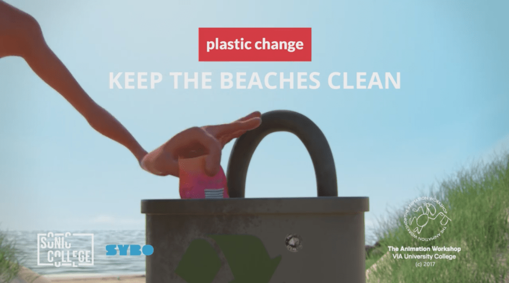 keep the beaches clean
