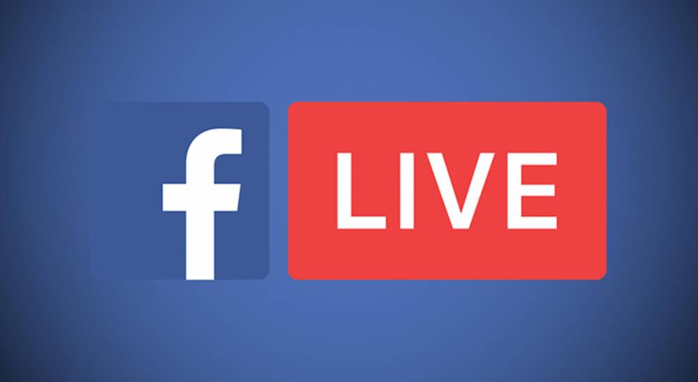 share screen facebook live