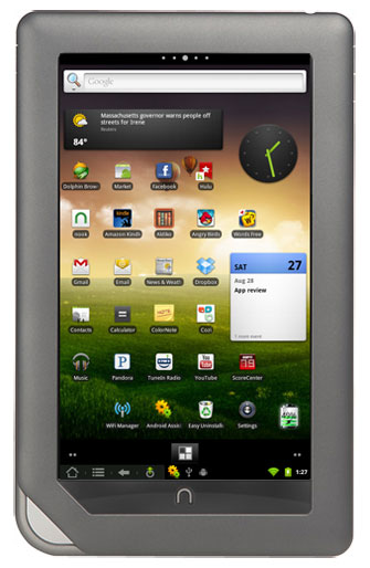 Nook to Android