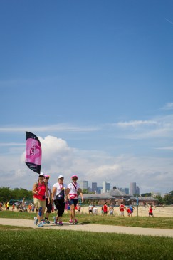 skyline flags 2013 Boston Susan G. Komen 3-Day Breast Cancer Walk