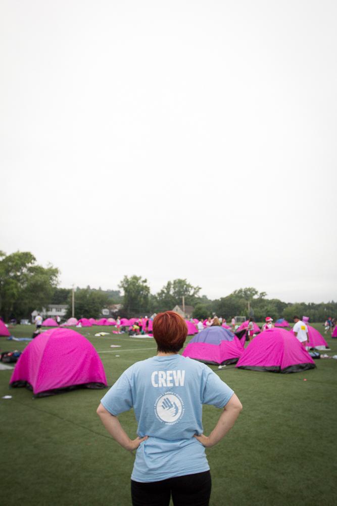 pink tent crew 2013 Boston Susan G. Komen 3-Day Breast Cancer Walk