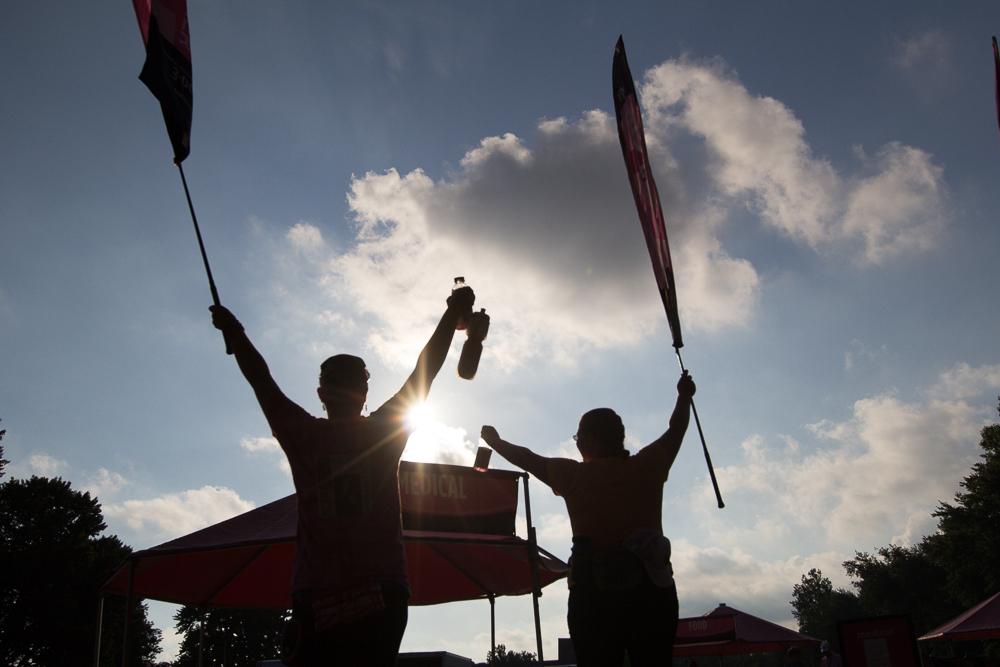 shadow flags 2013 Cleveland Susan G. Komen 3-Day breast cancer walk