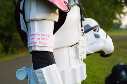 in memory breast cancer star wars storm trooper